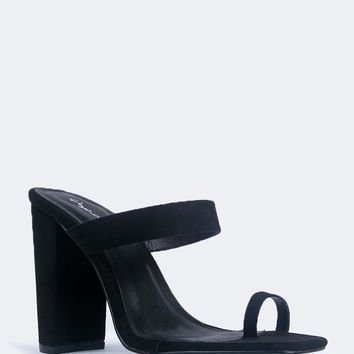 Slip On Toe Mules