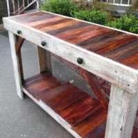 Rustic & Rich Sofa Table, Entry Table, Media Console |