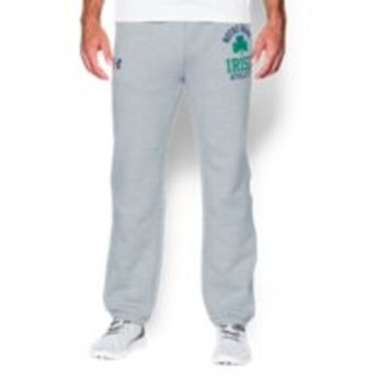 Under Armour Men's Notre Dame UA Iconic Fleece Pants
