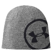 Under Armour Billboard Beanie for Men in Grey and Black 1248722-025
