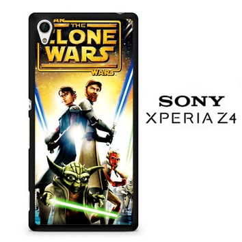 The Clone Wars film poster Z0599 Sony Xperia Z4 Case
