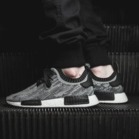 "NMD R1 Boost Runner Primeknit ""Black n White"""