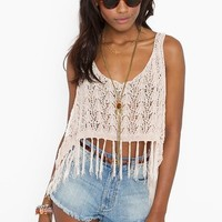 Fringed Crop Tank in Clothes at Nasty Gal
