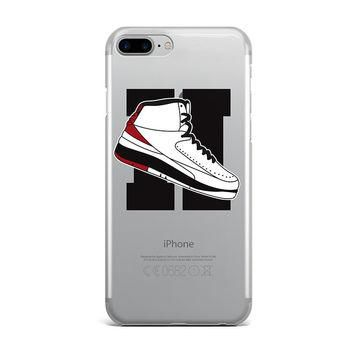 LARGE JORDAN 2 RETRO SHOE EMOJI CUSTOM IPHONE CASE