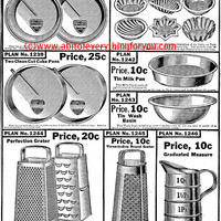 pots pans kitchen items vintage product advertisement printable art print clipart png download digital image graphics black and white