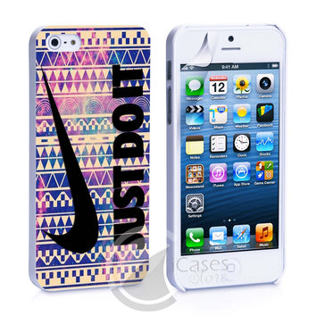 Nike Just Do it aztec  wallpaper iPhone 4s iPhone 5 iPhone 5s iPhone 6 case, Galaxy S3 Galaxy S4 Galaxy S5 Note 3 Note 4 case, iPod 4 5 Case
