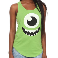 Disney Monsters, Inc. Mike Girls Tank Top