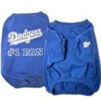 Sporty K9 MLB Los Angeles Dodgers Pet T-Shirt, Large