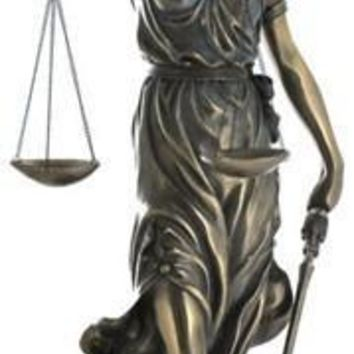 Blind Lady of Justice (Goddess Justicia) Grande 29.5H