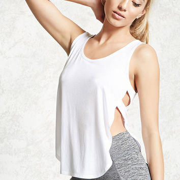 Active Caged-Side Tank Top