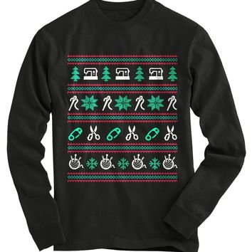 Sewing Ugly Christmas Sweater