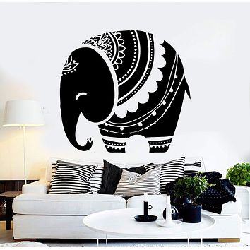 Vinyl Wall Decal Baby Elephant Animal Kids Room Stickers Unique Gift (ig4364)