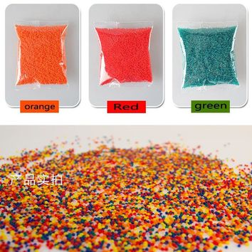 30000 PCS Colorful Crystal Bullet Soft Water Gun Paintball Bullet Bibulous Bullet Orbeez Gun Toy  Accessories Most Pistol