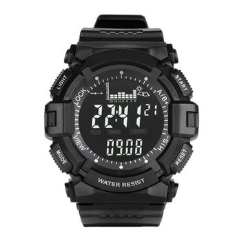 Sports Digital Watches Outdoor Clock Weather Altimeter Barometer Thermometer Pedometer Shock Fishing Watch