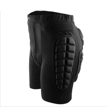 Plus Size Protective Snowboard Shorts Hip Protective Bottom Padded For Ski Roller Skate Snowboard Hip Protection Pad Sports Gear