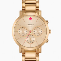Kate Spade Gramercy Grand Chronograph Rose Gold ONE
