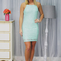 Laced with Desire Dress