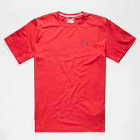 Under Armour Charged Cotton Sportstyle Mens T-Shirt Red  In Sizes