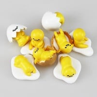 10Sets/Lot Gudetama PVC Figure Toy Mini Doll Toys 3cm Approx Great Gift
