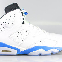 Air Jordan 6 VI Men's Retro Sport Blue 2014