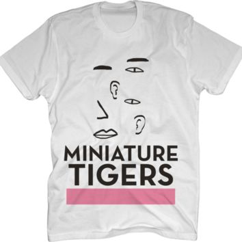 Miniature Tigers White T