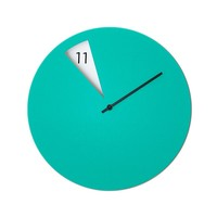 MONOQI | Freakish Wall Clock - Green