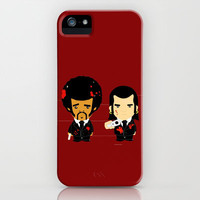 pulp fiction iPhone Case by sEndro   Society6