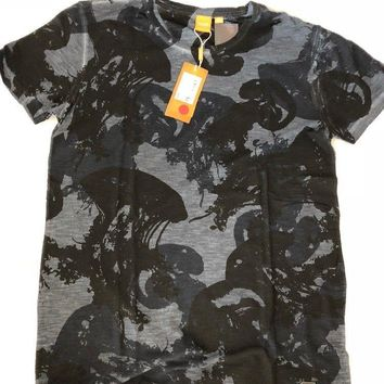 NWT $75 BOSS HUGO BOSS Trixxer Short Sleeve Graphic Design T-Shirt Portugal XXL
