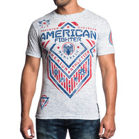 American Fighter by Afflcition North Dakota Artisan Tee Shirt
