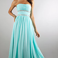 Long Prom Dresses, Strapless Evening Gowns, Prom Gowns - PromGirl