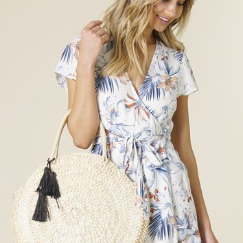 L*Space Swim - Beach Weekend Bag | Natural