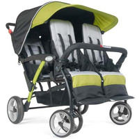 Foundations Quad Sport 4-passenger Stroller Lime - 4141299