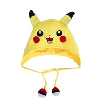 Anime Pokemon Go Pikachu Cosplay Baseball Caps Adults and children Hip Hop Hat Kids Biboo Swag Snapback I Would'n help it Cap