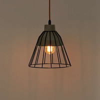 Fallston Metal Cage Pendant Light | Urban Outfitters