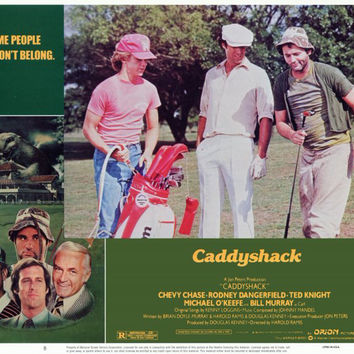 Caddyshack 11x14 Movie Poster (1980)