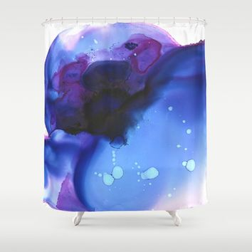 Ajna Shower Curtain by duckyb