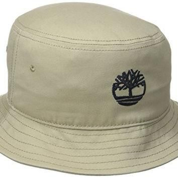 Timberland Men's Bucket Hat, Tan, One Size