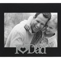 Malden I Love Dad Expressions Frame, 4 by 6-Inch