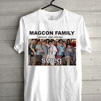 magcon boys swag, forever and always Screen print Funny shirt for t shirt mens and t shirt girl size s, m, l, xl, xxl