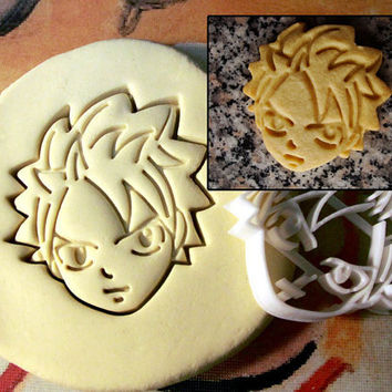 Fairy Tail Natsu Dragneel Cookie Cutter - Made from Biodegradable Material