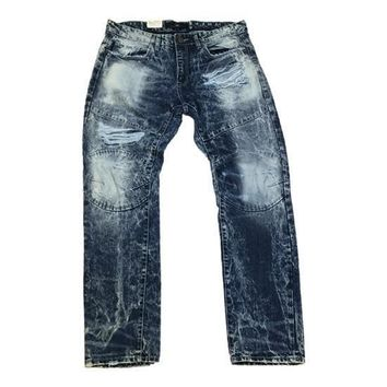 Jordan Craig - Mens - Distressed Denim Jeans