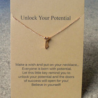 Make A Wish Necklace - Unlock Your Potential