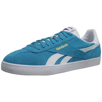 Reebok Womens Royal Alperez Suede Colorblock Fashion Sneakers