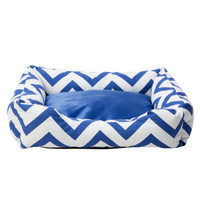 Top Paw® Chevron Print Bed