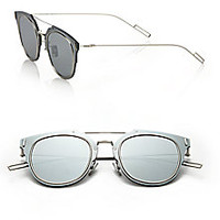 Dior Homme - Composit 62MM Round Sunglasses - Saks Fifth Avenue Mobile