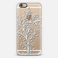 doodle leaves2 iPhone 6 case by Ramoncita (aticnomar) | Casetify