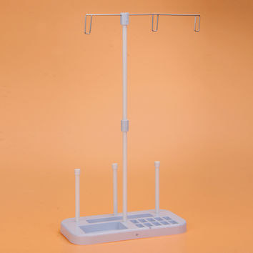 Thread 3 Spool Holder Stand Rack Sew Quilting for Home Sewing Machine Spool Stand Holder Sewing Product Organizer CA1T