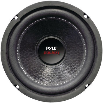 "Pyle Power Series Dual Voice-coil 4ohm Subwoofer (6.5"" 600 Watts)"