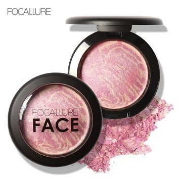 Natural Face Pressed Blush Makeup Baked Blush Palette Baked Cheek Colors Cosmetic