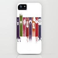 Disney Villains iPhone Case by Meder Taabaldiev